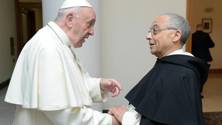 Le Pape François offrira ses prières pour les frères capitulaires.  Capitulum Generale OP, Biên Hòa, 2019