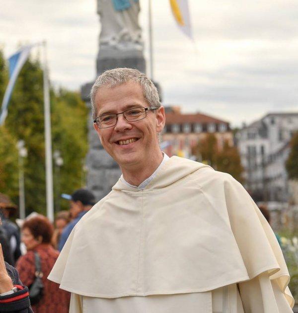 Fr. Olivier de Saint Martin prior provincial de la provincia de Toulouse