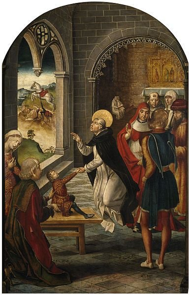 The holiness of Dominic, a light for the Order of Preachers