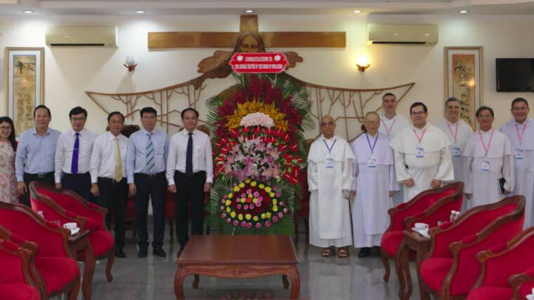 Rencontre protocolaire entre le Chef de la Commission du Gouvernement pour les Affaires Religieuses du Vietnam et le Maître de l'Ordre, Fr Bruno Cadoré, O.P.