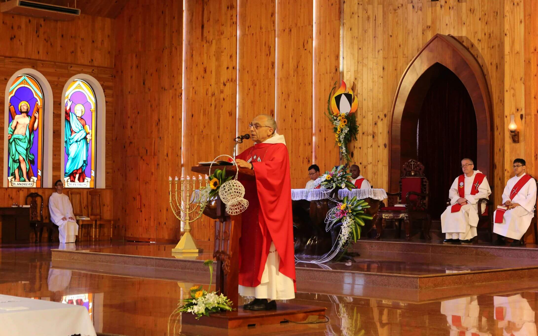 Opening Mass of the Chapter – Bro. Bruno Cadoré, Master of the Order (2019)