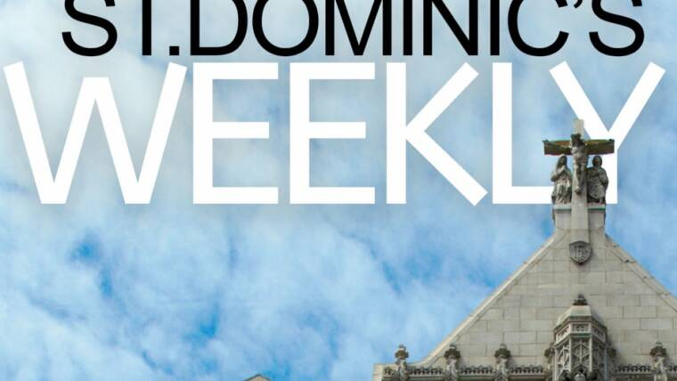 Master of the Order's speech  in St Dominic Church – San Francisco