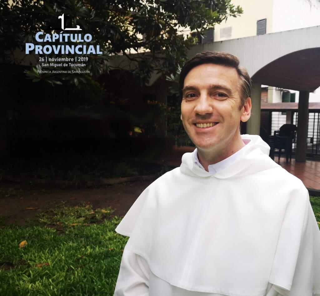 Fray juan José Baldini - Prior Provincial of Saint Augustine