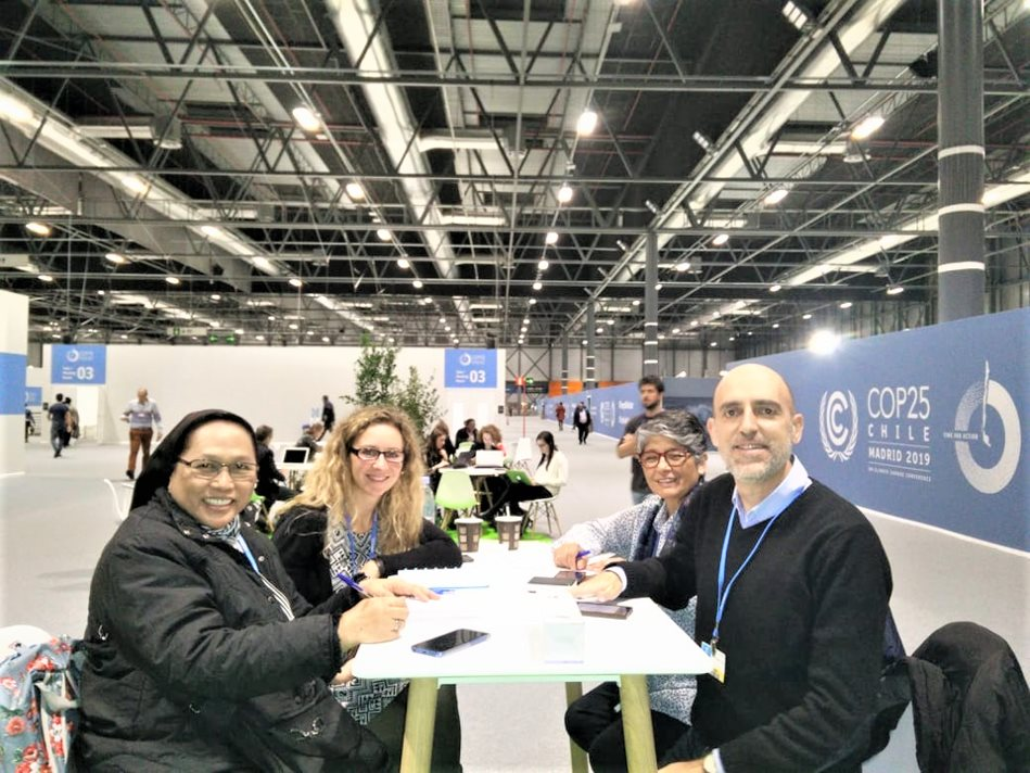 The Dominican Family participated actively at the COP25 in Madrid