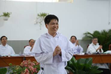Fr. Tomás de Aquino Nguyen Truong Tam, O.P. has been elected Prior Provincial of the Queen of Martyrs Province in Vietnam.