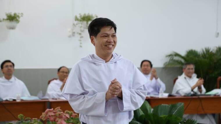 Fray Tomás de AquinoNguyen Truong Tam, O.P. ha sidoelegido Prior Provincial de la Provincia Reina de los Mártires en Vietnam