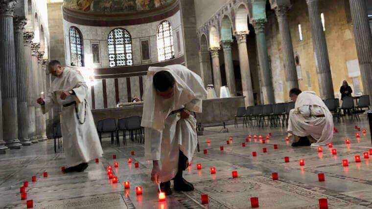 Mois dominicain pour la paix au couvent de Sainte Sabine, Rome