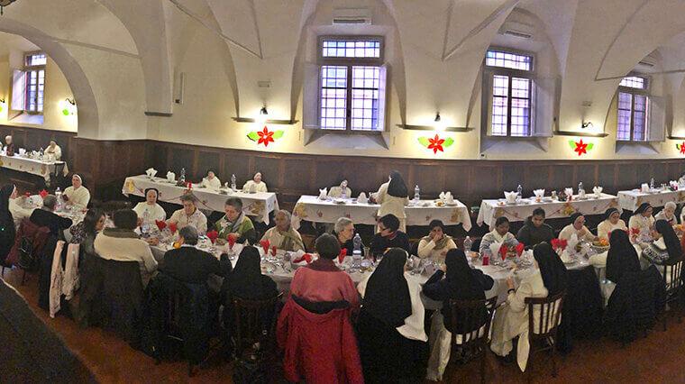 A la mesa con Santo Domingo 'A Tavola con San Domenico'