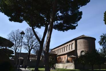 Basilica of Santa Sabina is closed due to prevention of COVID 19