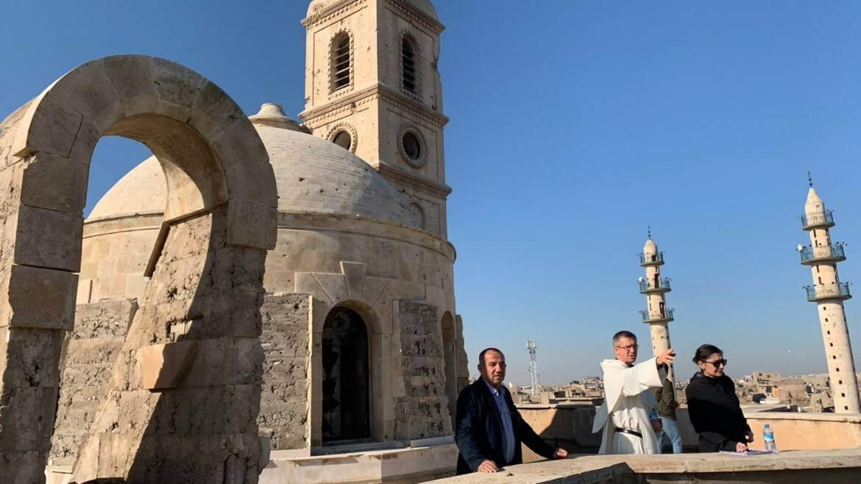 l'UNESCO – l'église du couvent Notre-Dame de l'Heure à Mossoul (Irak)