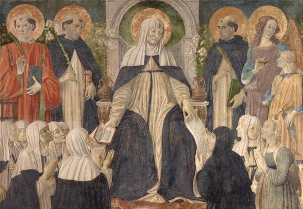 Le Pape prie – Sainte Catherine de Sienne, patronne de l'Europe