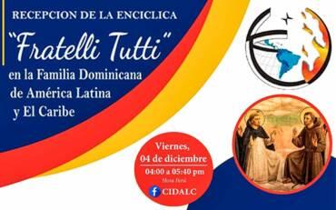 """Accueil de l'Encyclique """"Fratelli Tutti"""" par la famille dominicaine en Amérique latine et aux Caraïbes"""