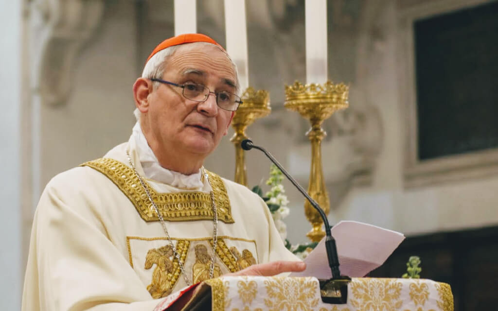 Homily of Cardinal Zuppi