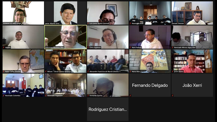 Meeting of the Dominican novices of Latin America and the Caribbean