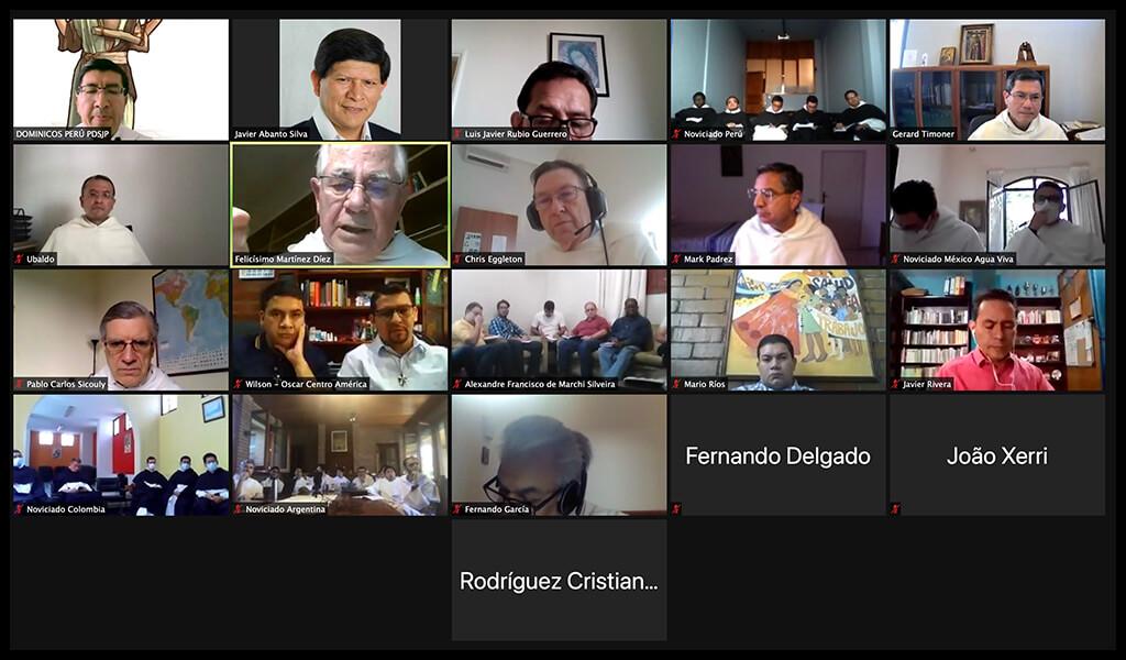 Encuentro de novicios dominicos de América Latina y el Caribe