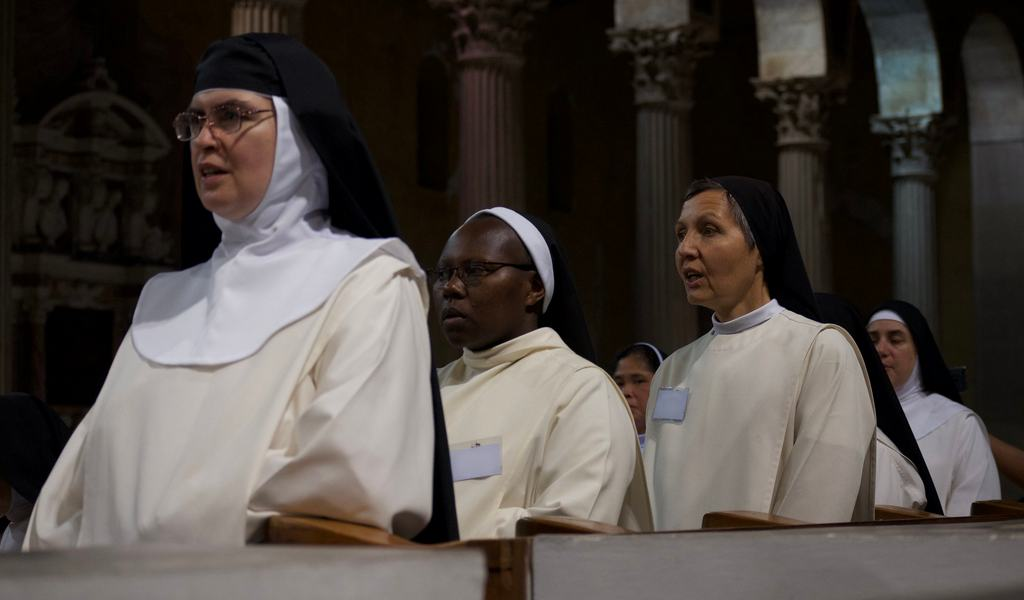 Online meeting of the International Commission of Nuns