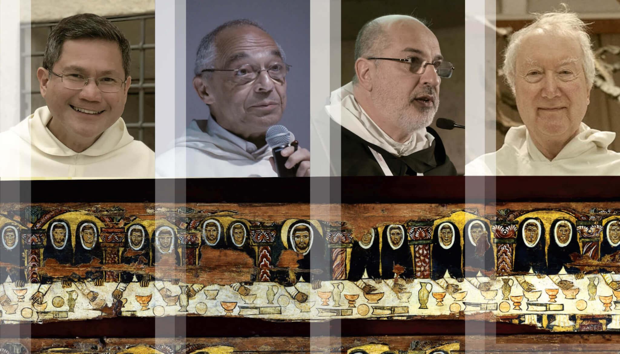 Maestros de la Orden de Predicadores: Fr. Gerard Timoner, OP / Fr. / Bruno Cadoré, OP. / Fr. Carlos  Azpiroz Costa, OP. / Fr. Timothy Radcliffe, OP