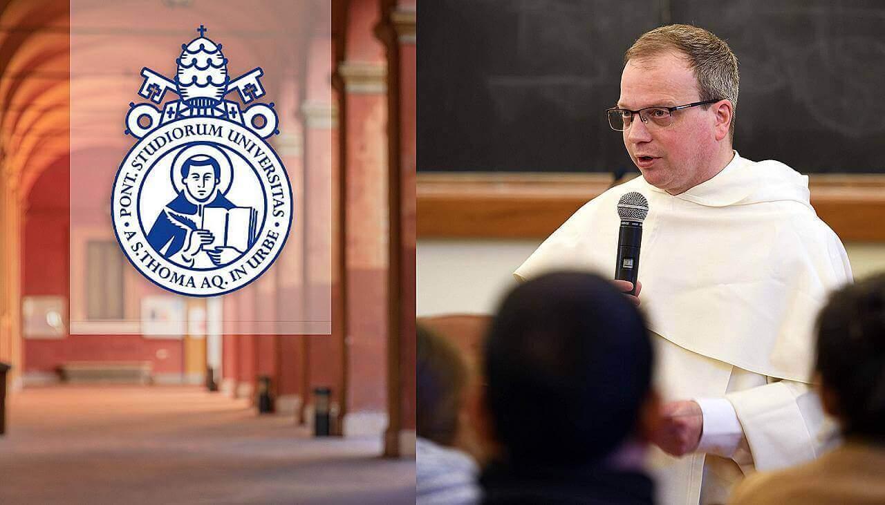 Nuevo Rector de la Universidad Pontificia de Santo Tomás de Aquino (Angelicum)