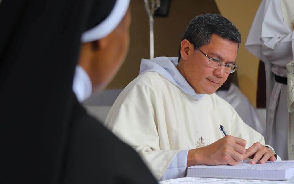 Le Maître de l'Ordre érige un nouveau monastère de l'Ordre au Nigeria