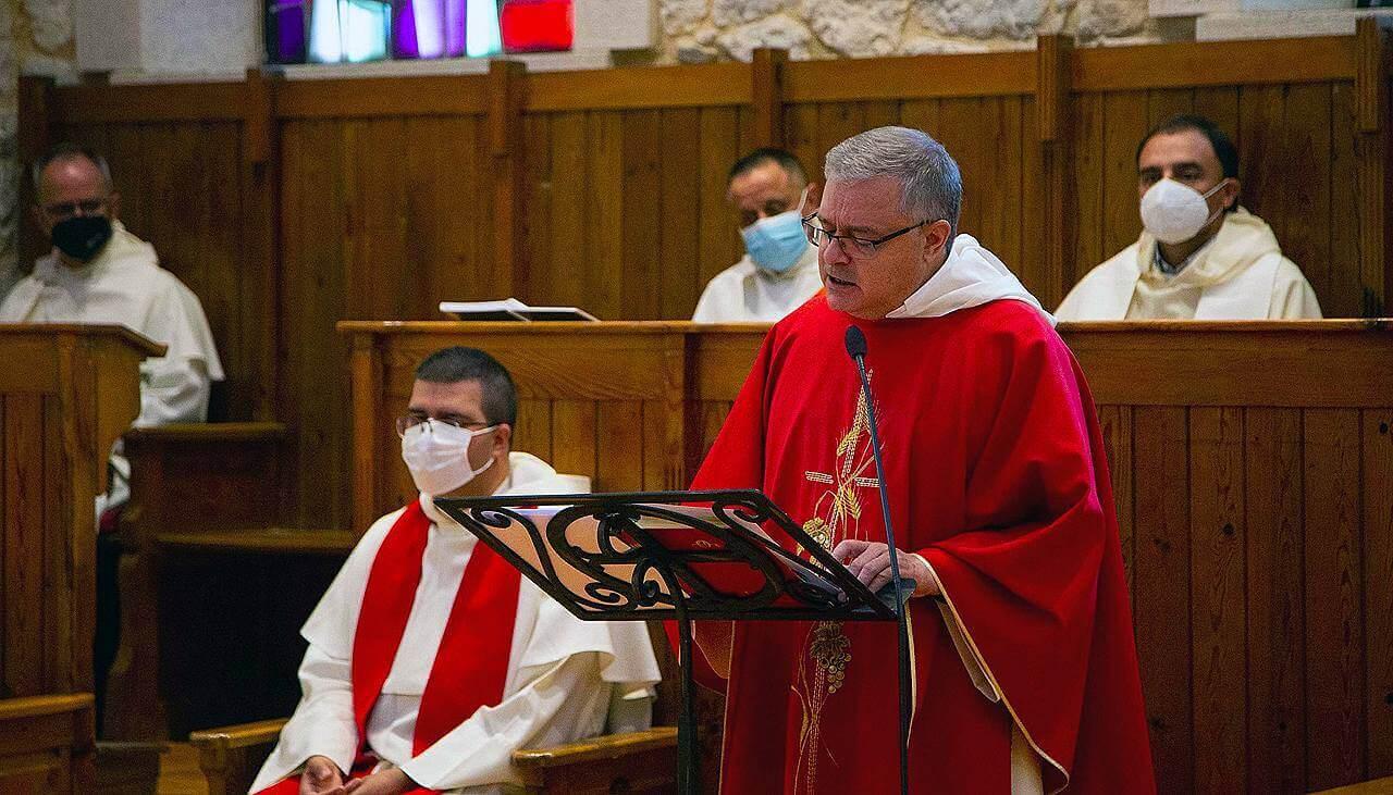 frère Jesús Díaz Sariego, OP, comme leur Prieur provincial.