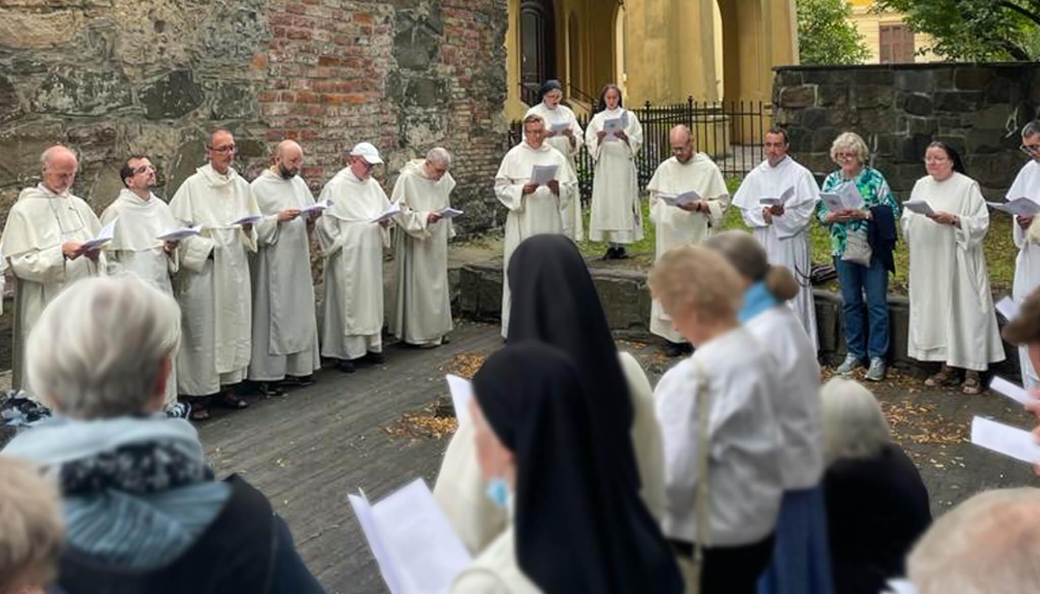 Del 6 al 8 de agosto, en Oslo, la familia dominicana celebró no sólo a nuestro padre Santo Domingo