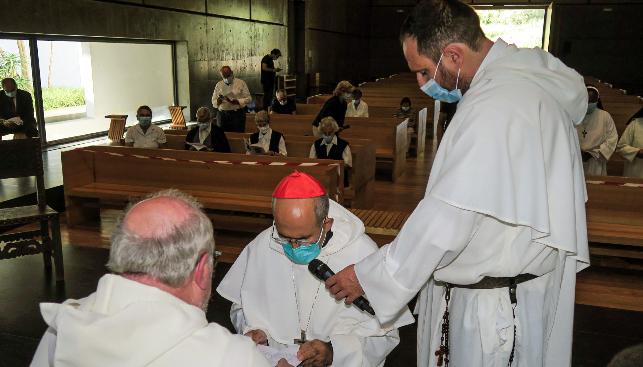 Admission of Cardinal José Tolentino de Mendonça in the Priestly Fraternities