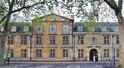 Blackfriars Hall - University of Oxford - Oxford, England