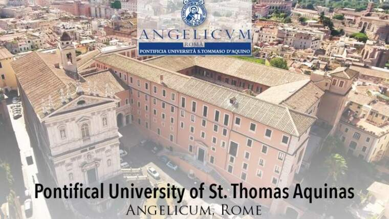 PONTIFICAL UNIVERSITY OF ST. THOMAS AQUINAS
