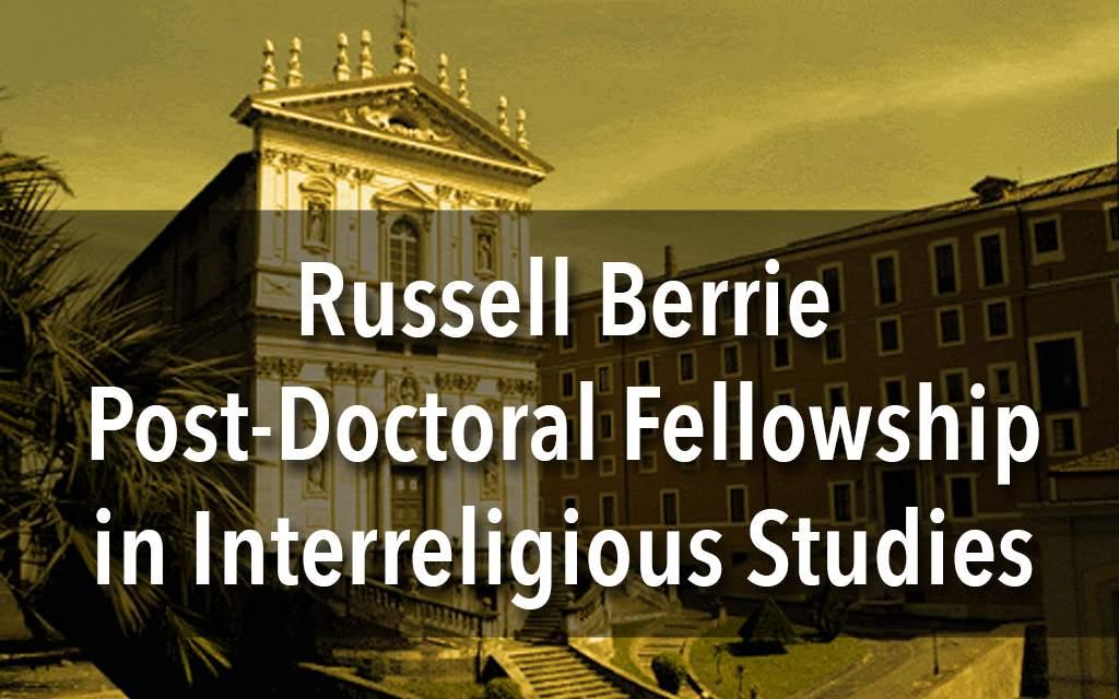 Russell Berrie Fellowship in Interreligious Studies