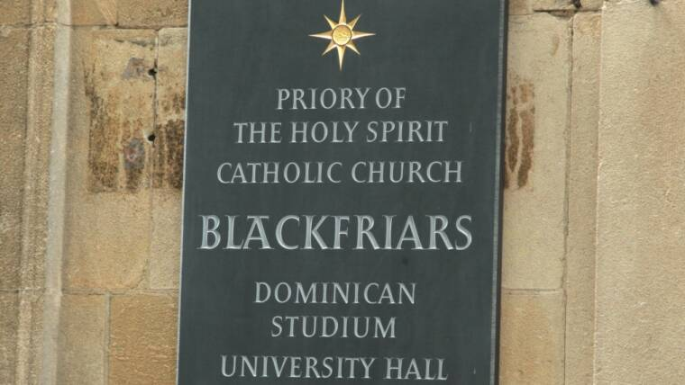 Vacancies: New Academic Posts at Blackfriars Studium