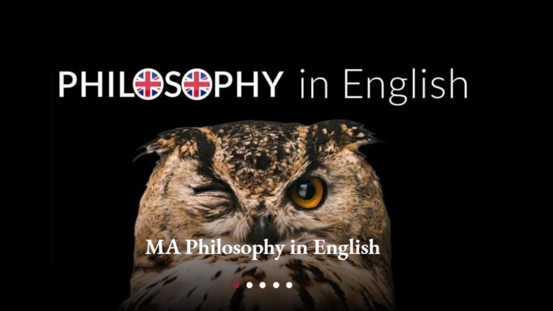 Philosophy in English